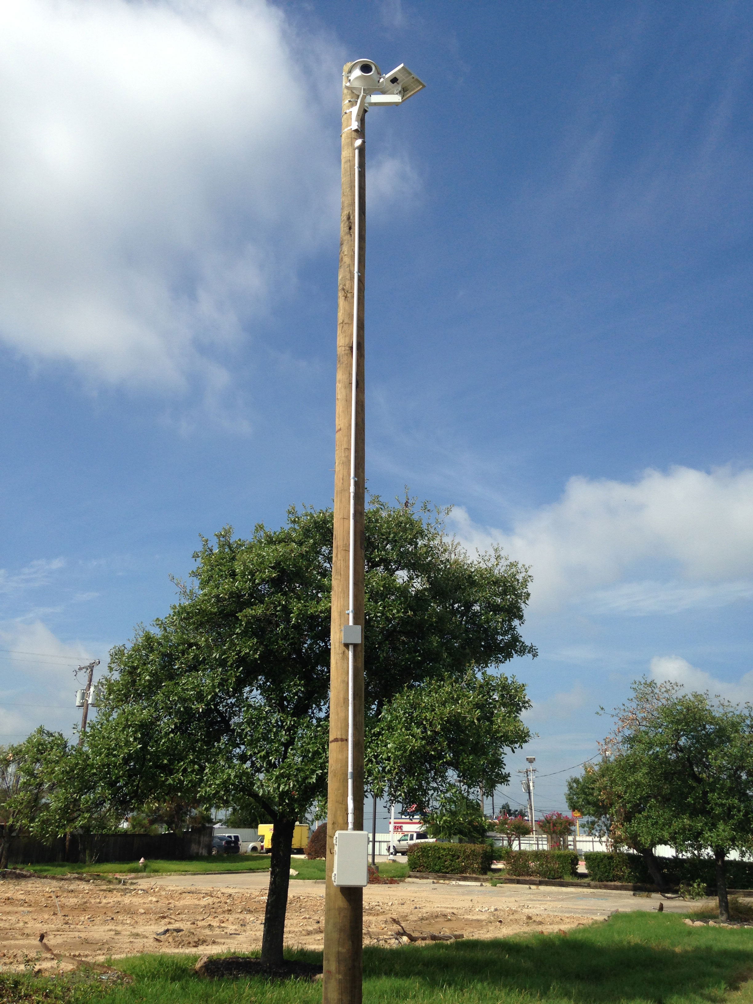 Mounting Examples Texas Pole Mount Cyclapse